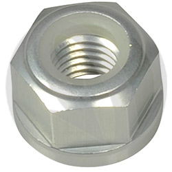 0011 nut - silver ergal 7075 T6 - M10 P 1.50 (Lightech)