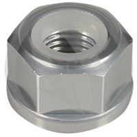 0011 nut - silver ergal 7075 T6 - M4 (Lightech)