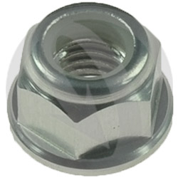 0011 nut - silver ergal 7075 T6 - M5 (Lightech)