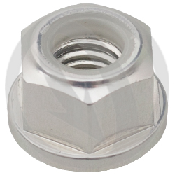 0011 nut - silver ergal 7075 T6 - M8 (Lightech)