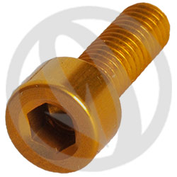 001 bolt - gold ergal 7075 T6 - M5 x 15 (Lightech)