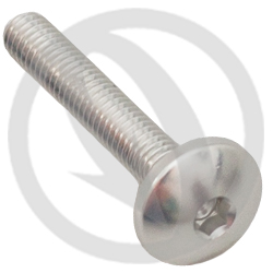002 bolt - silver ergal 7075 T6 - M4 x 25 (Lightech)