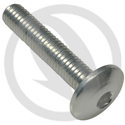 002 bolt - silver ergal 7075 T6 - M5 x 25 (Lightech)