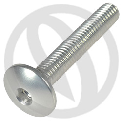 002 bolt - silver ergal 7075 T6 - M5 x 30 (Lightech)