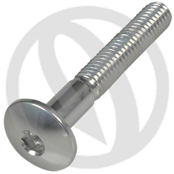 002 bolt - silver ergal 7075 T6 - M6 x 40 (Lightech)