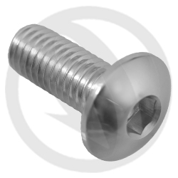 002 bolt - silver ergal 7075 T6 - M8 x 20 (Lightech)