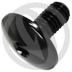 003 bolt - black ergal 7075 T6 - M5 x 10 | Lightech
