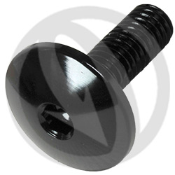 003 bolt - black ergal 7075 T6 - M5 x 15 | Lightech