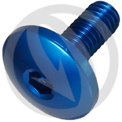 003 bolt - cobalt ergal 7075 T6 - M5 x 25 (Lightech)
