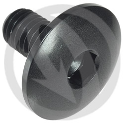 003 bolt - black ergal 7075 T6 - M8 x 15 | Lightech