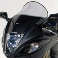 High protection clear screen for Suzuki Hayabusa