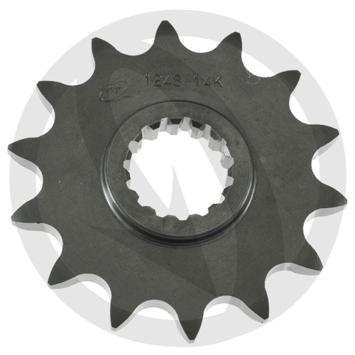 K front sprocket - 11 teeth - pitch 520 | Chiaravalli | stock pitch