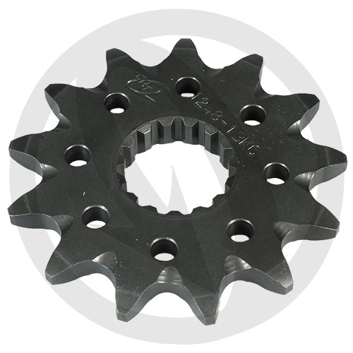 KC front sprocket - 12 teeth - pitch 520 | Chiaravalli | stock pitch