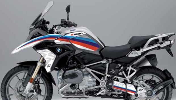 Stickers BMW Classic Line R 1200 GS Adventure 2013 - 2016 (made by BlackBird Racing - Italy)