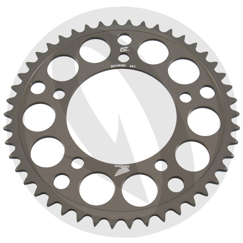 EMD rear sprocket - 45 teeth - pitch 520 | Chiaravalli | stock pitch