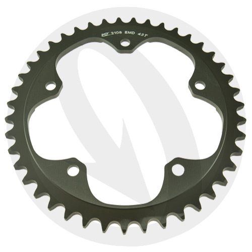 EMD rear sprocket - 40 teeth - pitch 520 | Chiaravalli | racing pitch