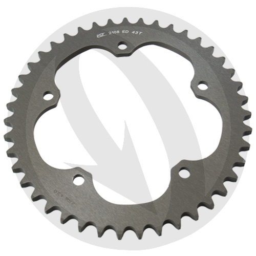 ED rear sprocket - 42 teeth - pitch 525 | Chiaravalli | stock pitch