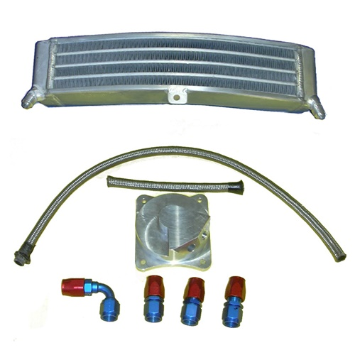 Additional oil racing cooler (H2O Performance)