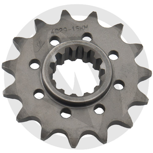 KM front sprocket - 16 teeth - pitch 520 | Chiaravalli | racing pitch