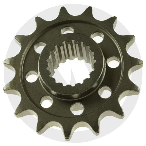 KM front sprocket - 14 teeth - pitch 520 | Chiaravalli | racing pitch