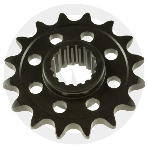 KM Chiaravalli front sprocket - 17 teeth - pitch 520 | racing pitch