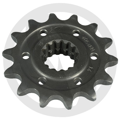 KM front sprocket - 15 teeth - pitch 520 | Chiaravalli | stock pitch