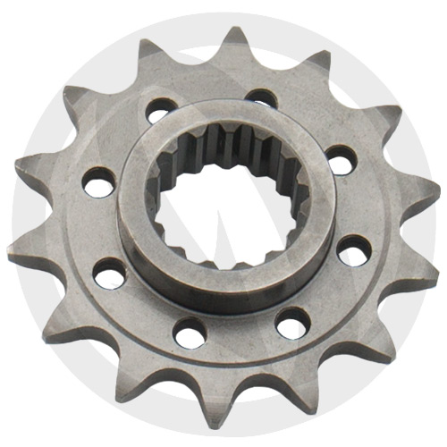 KM front sprocket - 17 teeth - pitch 520 | Chiaravalli | stock pitch