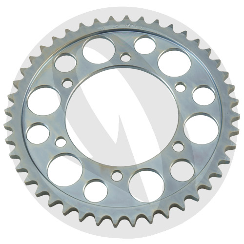 THF rear sprocket - 39 teeth - pitch 530 | Chiaravalli | stock pitch
