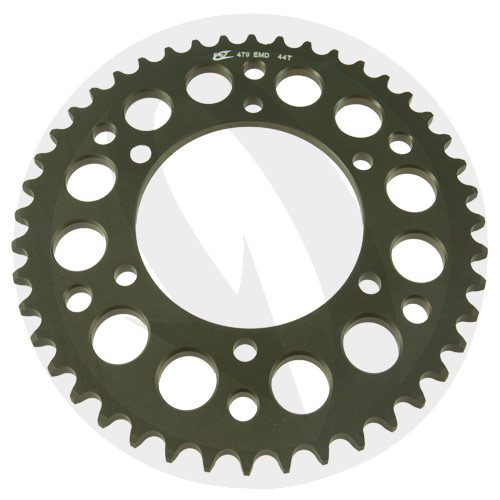 EMD rear sprocket - 52 teeth - pitch 520 | Chiaravalli | racing pitch
