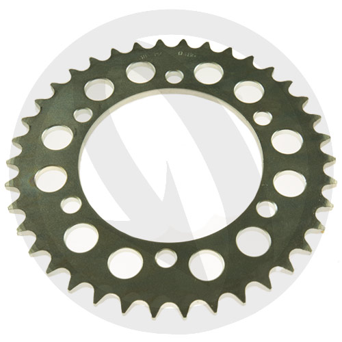 C rear sprocket - 38 teeth - pitch 520 | Chiaravalli | stock pitch