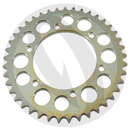 C rear sprocket - 45 teeth - pitch 520 | Chiaravalli | racing pitch
