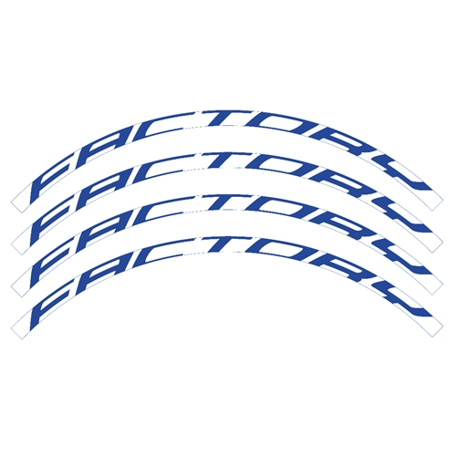Factory stickers set for off-road rims | Blackbird Racing