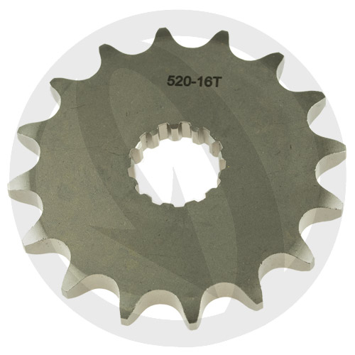 K front sprocket - 15 teeth - pitch 525 | Chiaravalli | stock pitch