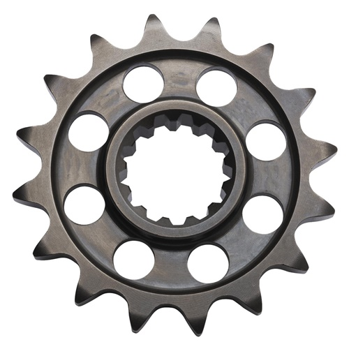 KM Chiaravalli front sprocket - 17 teeth - pitch 520 (racing pitch)