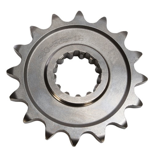 K front sprocket - 16 teeth - pitch 420 | Chiaravalli | stock pitch