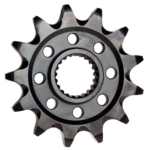 KC front sprocket - 14 teeth - pitch 420 | Chiaravalli | stock pitch