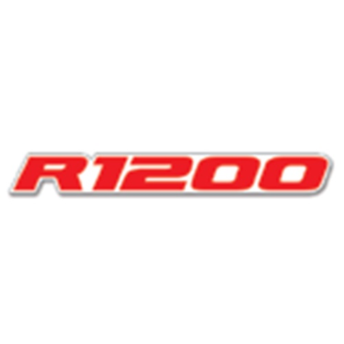 Couple of R1200 red / white stickers (Blackbird Racing)