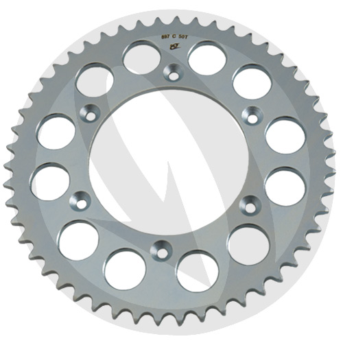 C Chiaravalli rear sprocket - 50 teeth - pitch 520 | stock pitch