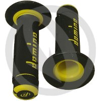 Couple of black / yellow grips (Domino)