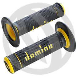 Coiple of black / yellow X-treme grips (Domino)