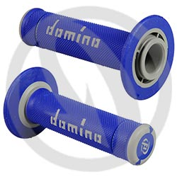 Couple of blue / grey X-treme grips (Domino)