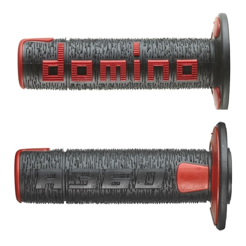 Couple of A360 black / red grips (Domino)