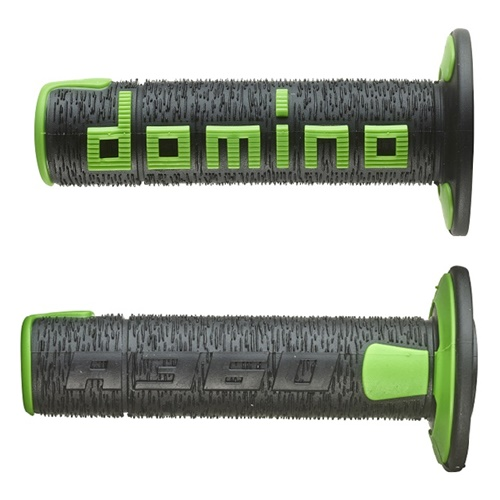 Couple of A360 black / green grips (Domino)