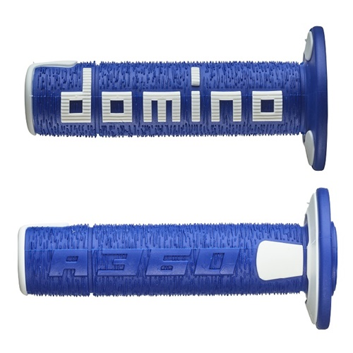 Couple of A360 blue / white grips (Domino)