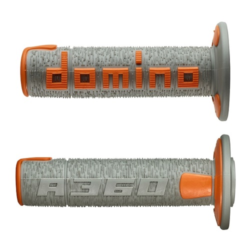 Couple of A360 grey / orange grips (Domino)