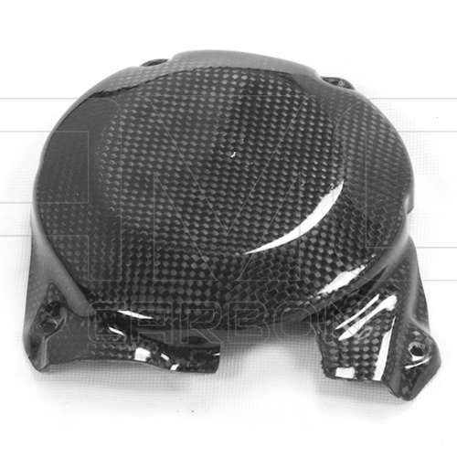Alternator cover guard (glossy carbon)