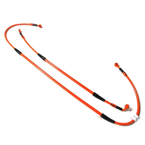 Clutch hoses kit (C - orange)