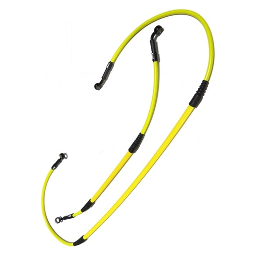 Brake hoses kit (S - yellow)