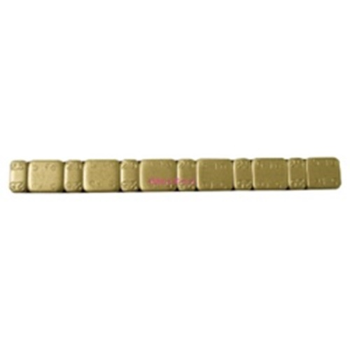 Adhesive gold rim weights (Bike Lift)