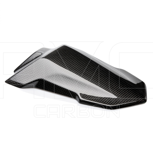 Passenger seat cover | glossy carbon